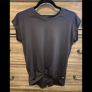 Champion grey/navy workout t shirt